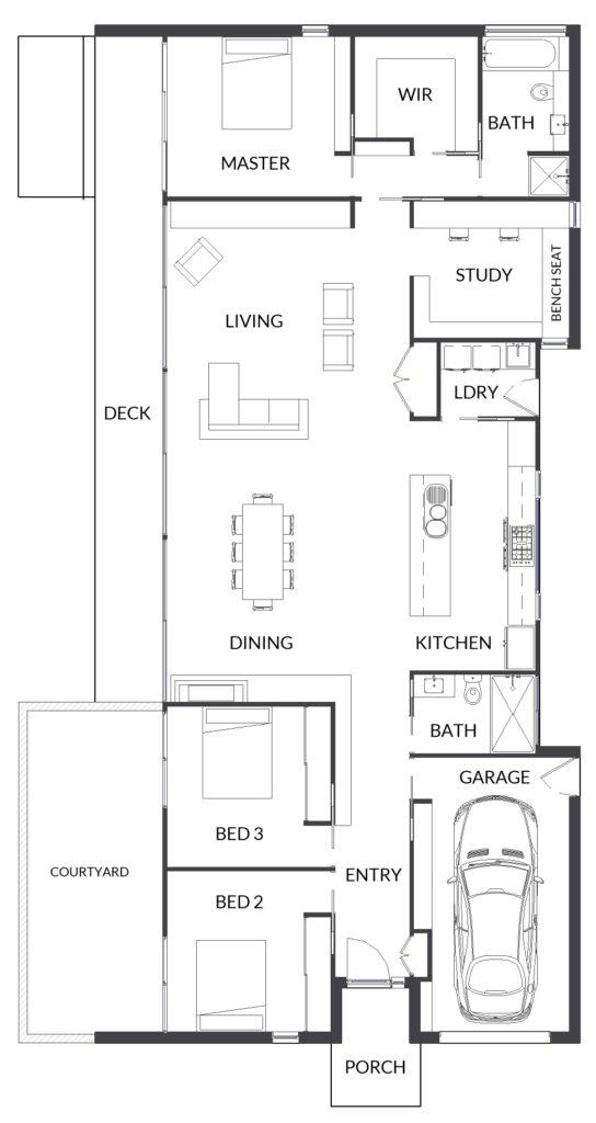 1079 JOHN ONEILL CONCEPT floor plan
