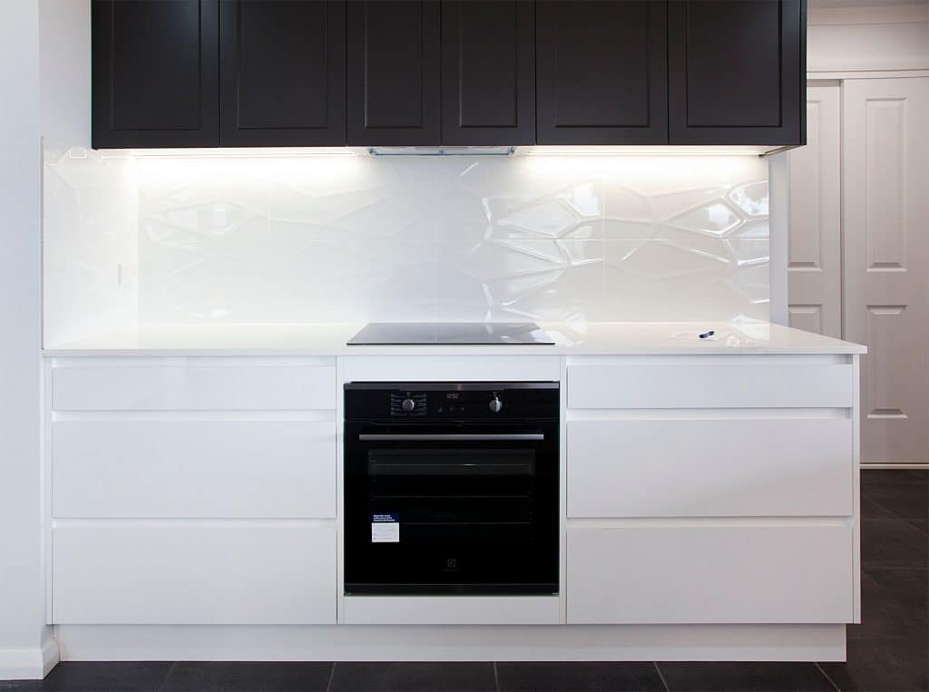 contemporary kitchen oven